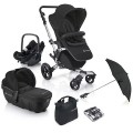 concord-conjunto de carrinho de passeio neo travel dark night